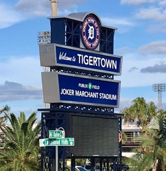 Tiger Spring Training Home