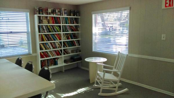 Library Reading Nook
